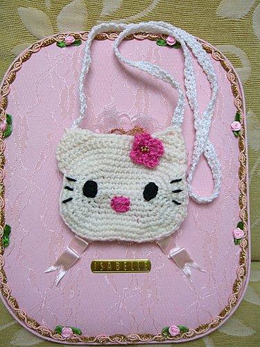 2007 Kitty 雙色小皮包-1