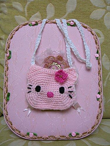 2007 Kitty 雙色小皮包-2