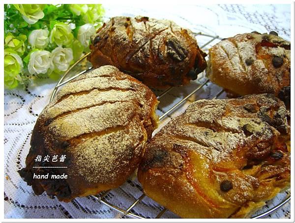 橘香胡桃裸麥麵包