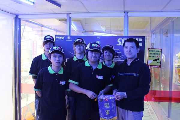 本日冠軍隊伍-1314代表隊