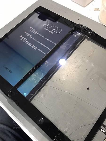 IPAD AIR觸控面板破碎
