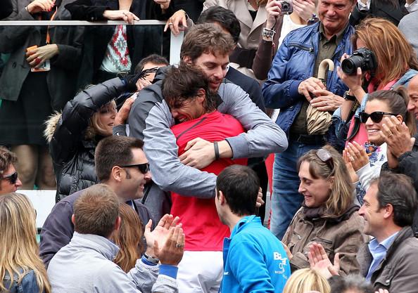 Rafael+Nadal+Pau+Gasol+Rafael+Nadal+Wins+French+c_pqX7BASFml