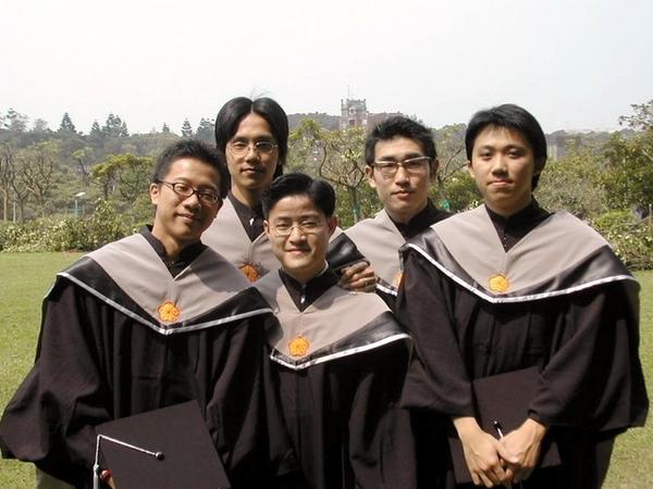 拍碩士畢業照