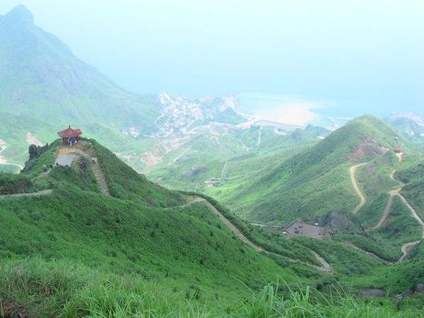 茶壺山頂眺望