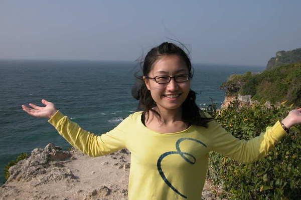 懸崖上風很大