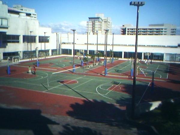 長庚大學籃球場