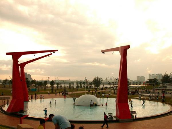 超大噴水池