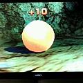 wii sport resort 射箭遊戲隱藏版箭靶 初級-1 橘子