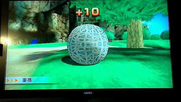 wii sport resort 射箭遊戲隱藏版箭靶 初級-3 哈密瓜