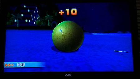 wii sport resort 射箭遊戲隱藏版箭靶 高級-1 橘子