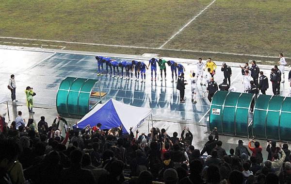 中華隊感謝全場球迷支持 20110309