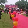 台南市集體結婚的舞台