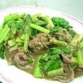 蔡蔔請吃岡山炒羊肉