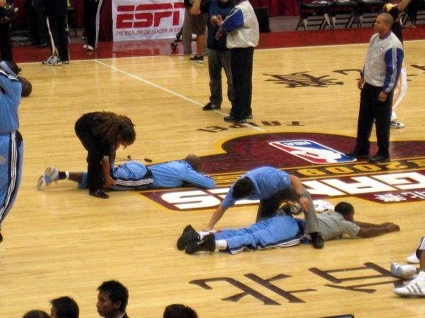 當NBA球員是很幸福的