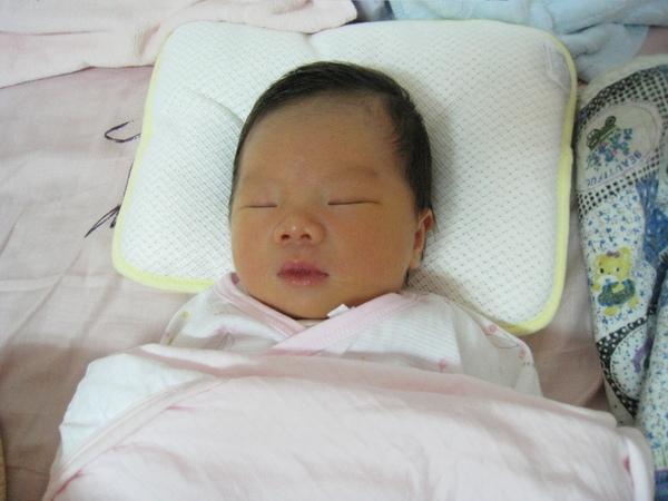 回到台南的家,睡在爸爸媽媽的床上