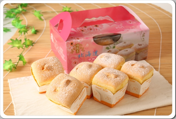 【順觀泰蛋糕】北海道戚風蛋糕泡芙禮盒組