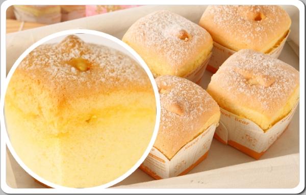 【順觀泰蛋糕】北海道戚風蛋糕泡芙-戚風蛋糕主體
