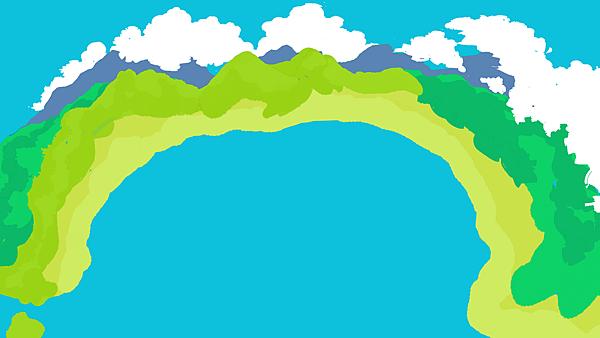 山海盡頭的游泳池1