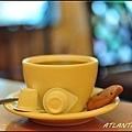 套餐的咖啡