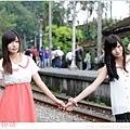 雙胞胎_菁桐車站 002