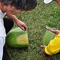 這次的西瓜又大又甜