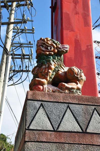 橋口的石獅