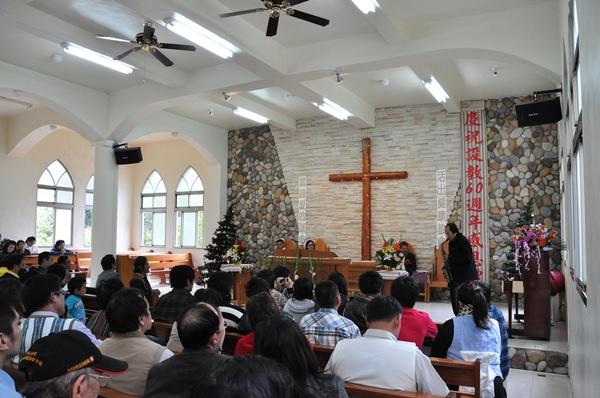 當天是教會慶祝設教60年