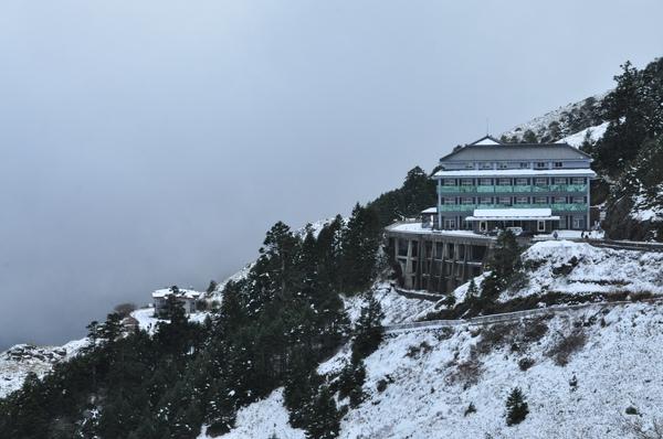 山上的天氣真是瞬息萬變