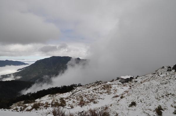 今天的住宿處  滑雪山莊