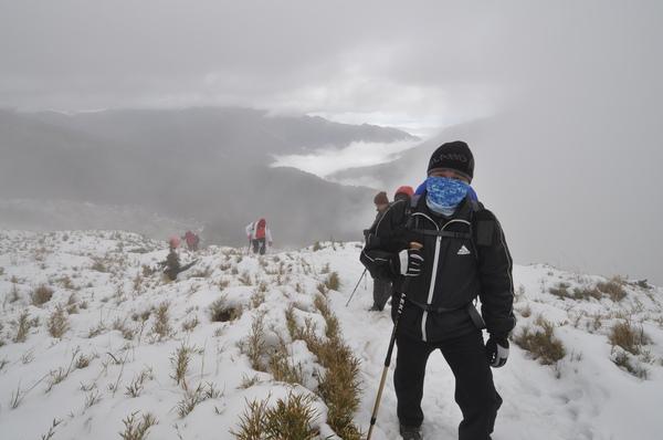 大周 今年的百岳幾乎都一起參加了