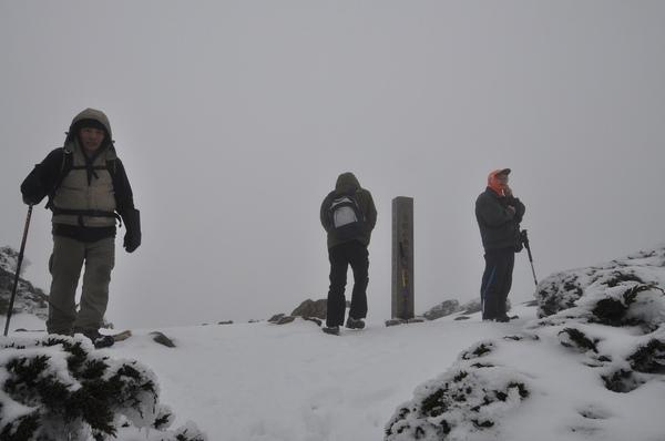 到達東峰頂  我是第四個到達的
