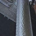 柱子也都結了一層冰