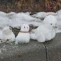 雪人家庭檔