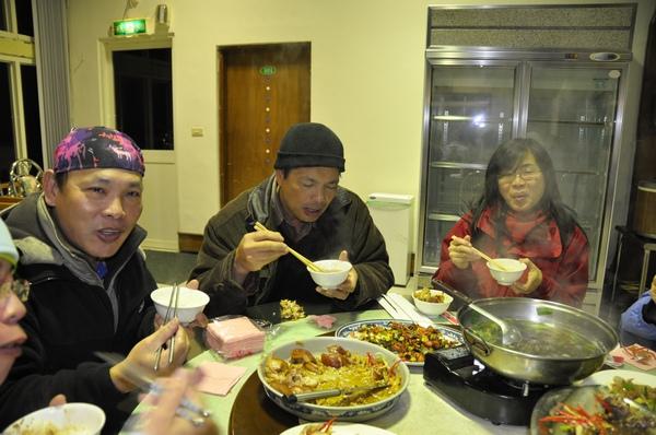 華崗渡假農場 晚餐