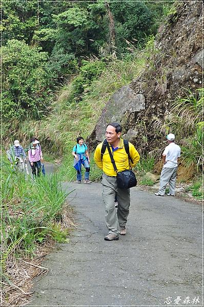 前往忘憂森林的路上有一長段陡坡
