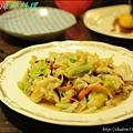 XO醬炒高麗菜
