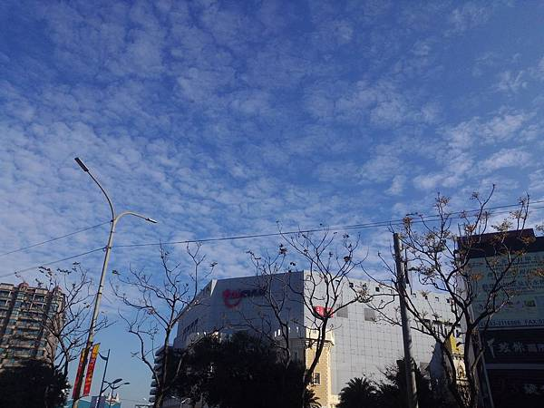 2014.02.24 如棉絮舖張的雲