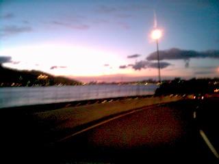 2007.08.09 往沙崙的路上