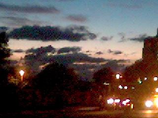 2007.08.09 往淡水的夕陽