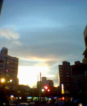2007.08.09 如幽浮般的雲
