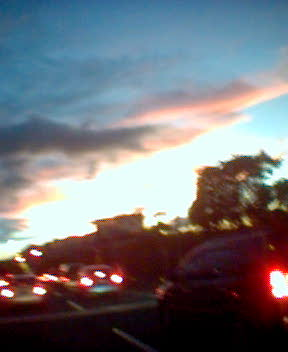 2007.08.09 夕陽