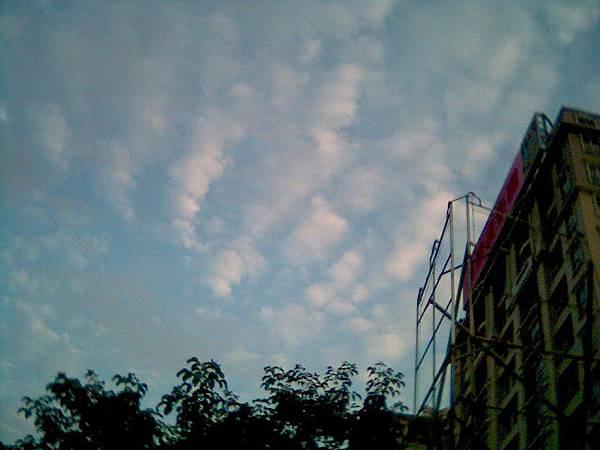 2009.05.03 水彩般的雲-2