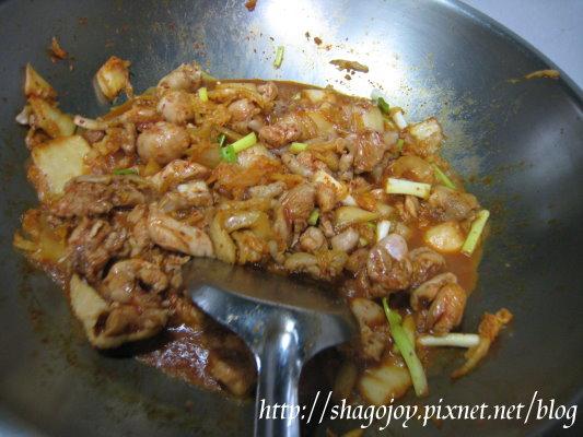 泡菜雞腿肉(加蔥)