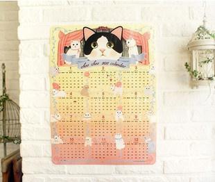 貓咪年曆賣家照