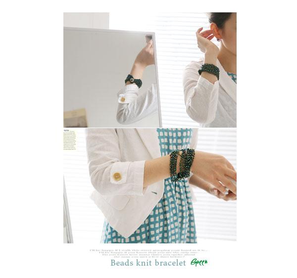 綠手鍊賣家照
