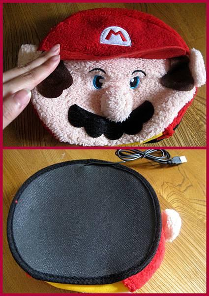 瑪利歐滑鼠暖手墊