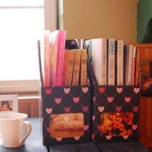 愛心書盒賣家照