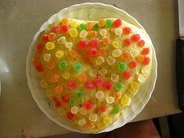 檸檬水果糖蛋糕