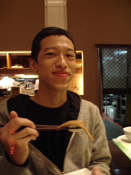 寶貝跟穴子(星鰻)壽司
