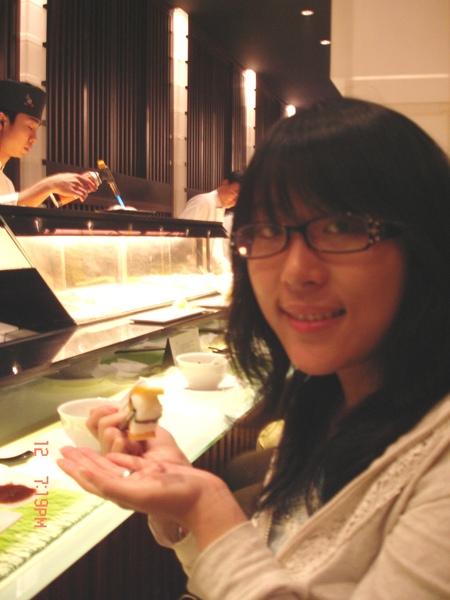 我跟玉子燒壽司